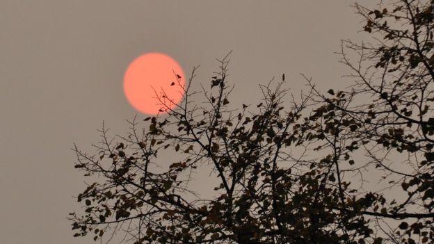 Red sun phenomenon 'caused by Hurricane Ophelia' Img_7816
