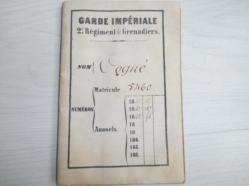 livret d'un Grenadier de la garde impériale ESC - JUIL4 VENDU Dscn4319