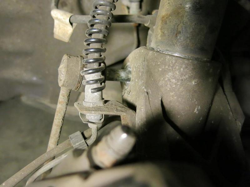 Remplacement des amortisseurs AV/AR sur 996, ancienne 1011
