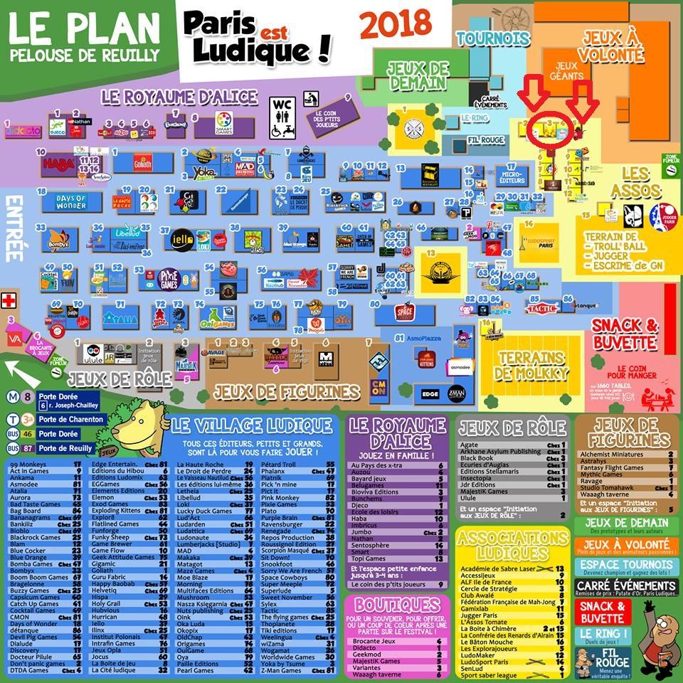 """""""Paris est ludique"""" 23-24 juin 2018 33923510"""