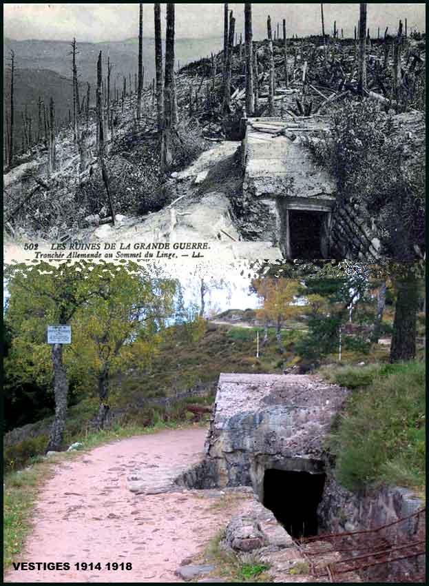 Musée de la bataille du Linge -1915 ( Orbey , Haut Rhin / Alsace ) Image010