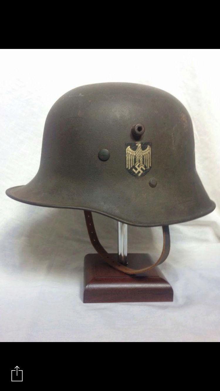 coque de casque WWI reconditionné WWII. Img_0310
