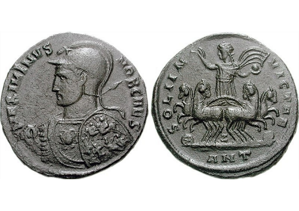 Maximinus Daia - Antioche - SOL INVICTAE  Maximi10