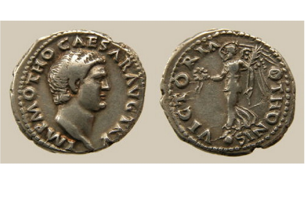 Denier Othon (Victoire) - coin Galba Othon11