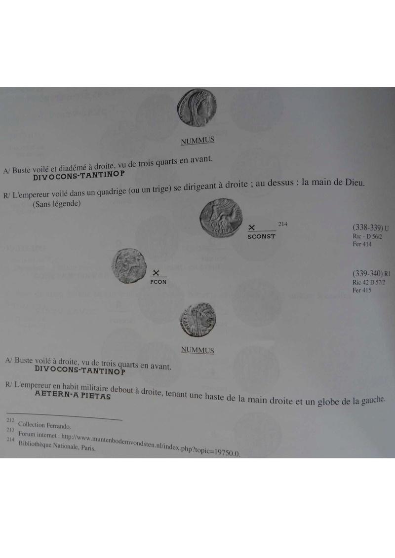 Nummi de consécration - Constantin I  - Page 17 Q10