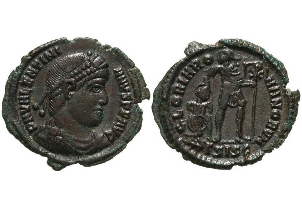 ID Valentinien I - Siscia RIC. 5 (très joli) Vava10