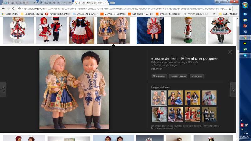 poupée ancienne ??  (résolu : folklorique des années 60 Tchyqu10