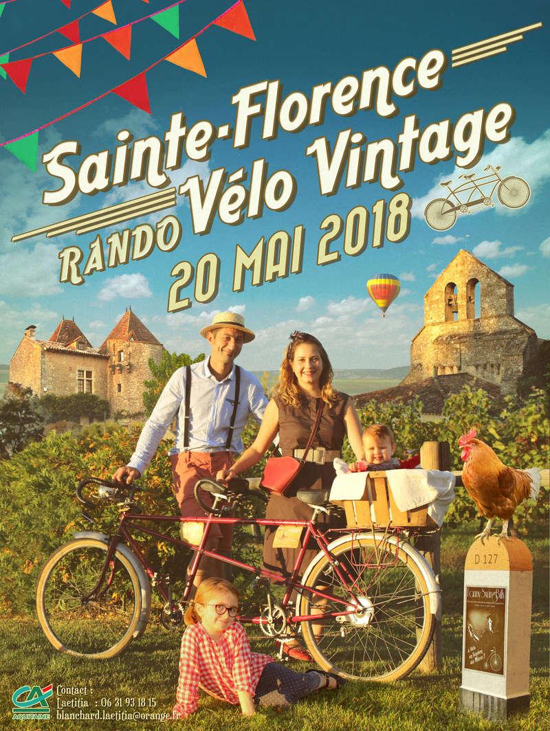 Rando vélo vintage à Ste florence ( 33 350) Affich10