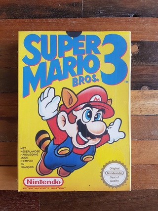 NES faux blister souple Super Mario Bros Lkn10