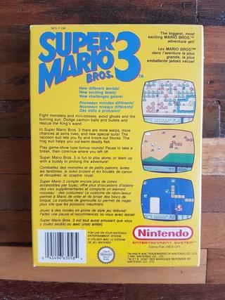 NES faux blister souple Super Mario Bros Qsfqsf12