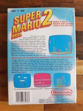 NES faux blister souple Super Mario Bros S160010