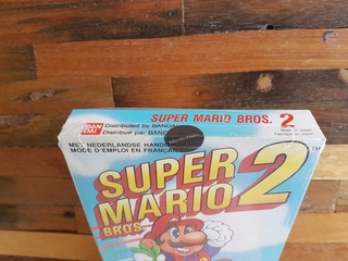 NES faux blister souple Super Mario Bros Sl010