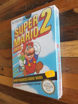 NES faux blister souple Super Mario Bros Sl1010