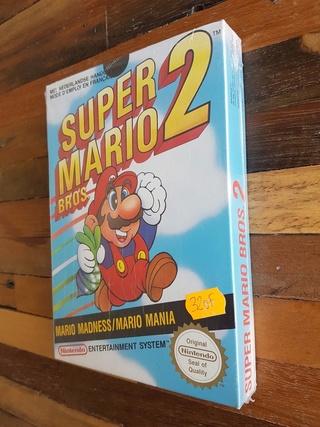 NES faux blister souple Super Mario Bros Sl1010