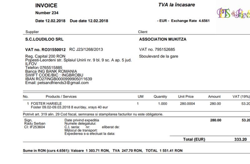 HARIELLE, F-X, né ? (PIATRA/pension) Prise en charge SPA de Pontarlier Img_2011