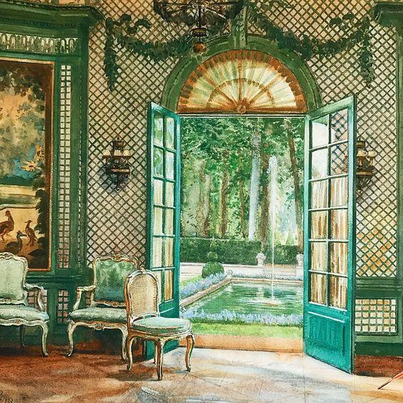 Elsie Marie Antoinette and her Petit Trianon Interi10