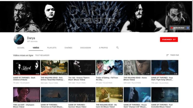 ★★★ Le Vidéaste à l'Honneur #14 | Darya | Venez critiquer cette chaîne ! Darya10