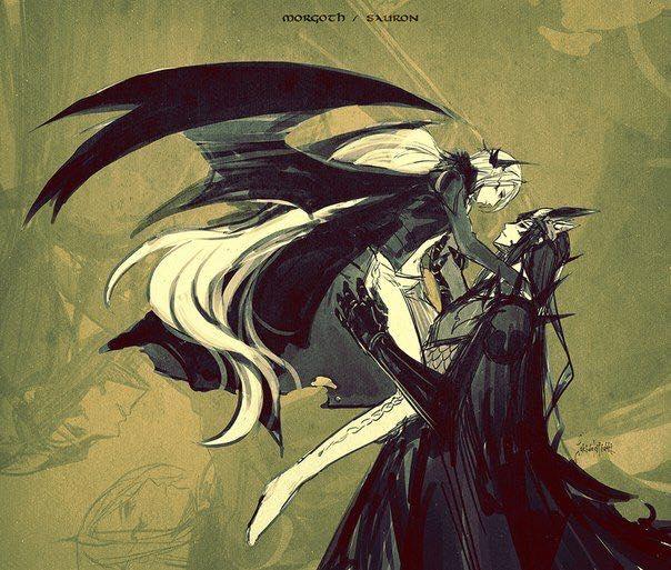 Melkor + Sauron = Morgoth   19576010