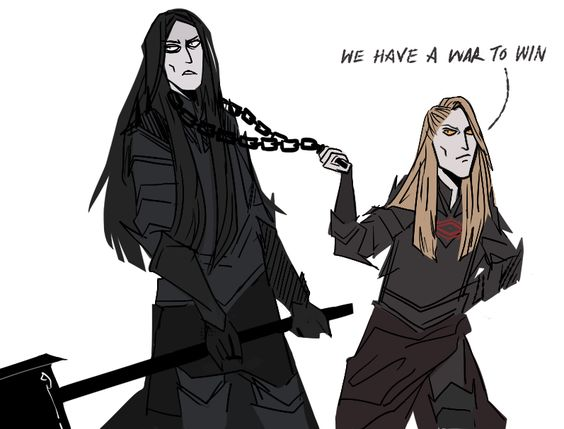 Melkor + Sauron = Morgoth   A06e4b10