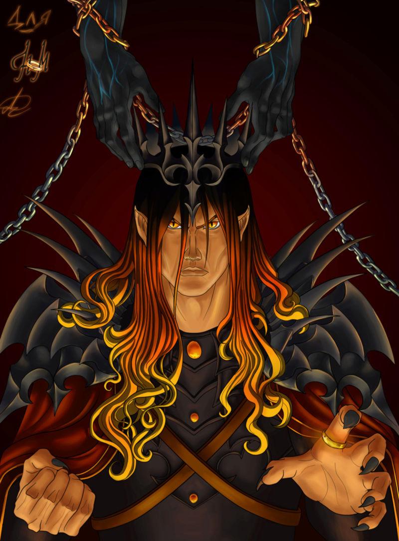 Melkor + Sauron = Morgoth   Ec47a910