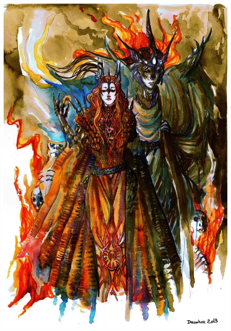 Melkor + Sauron = Morgoth   Silmar11