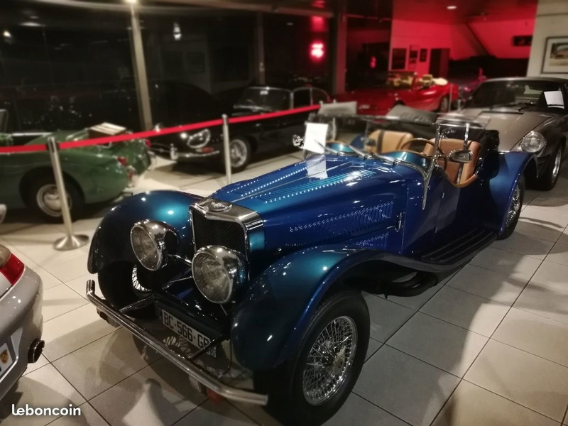Jaguar SS100 2,5 litres 1936 681ee210