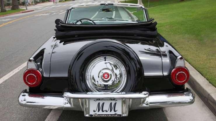 Ford Thunderbird 1956 Bbnhss11