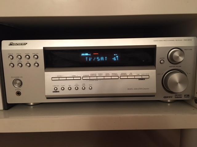 (FI) Sintoamplificatore Pioneer VSX-D514 5.1 + Casse Canton Movie Img_4114