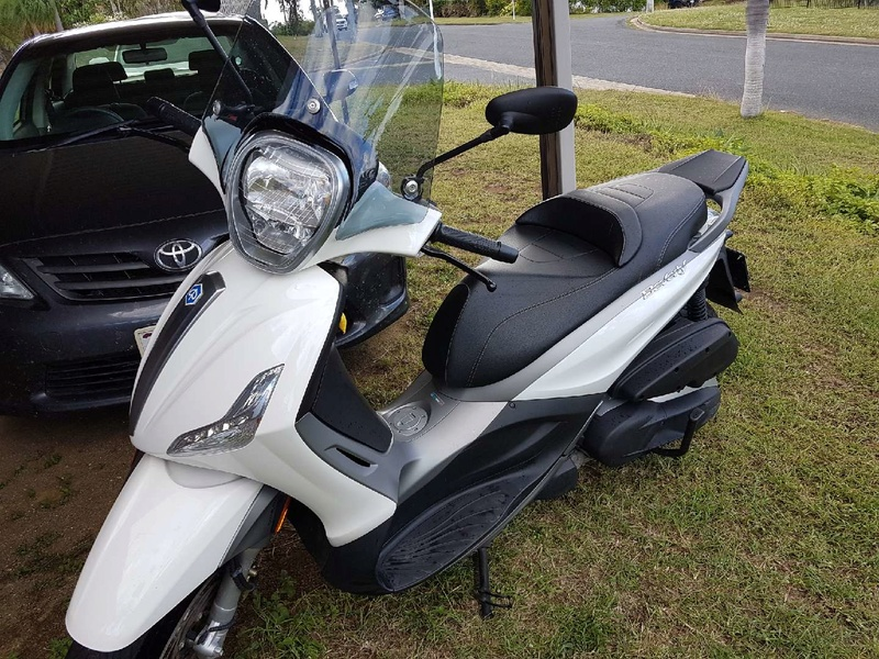 New BMW 400 scooter an alternative? Beverl10