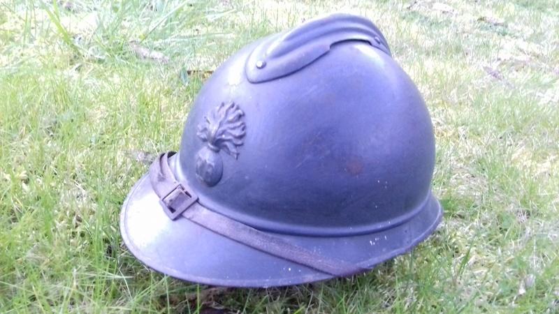 Casque Adrian Mdl 1915 - Infanterie 20180314