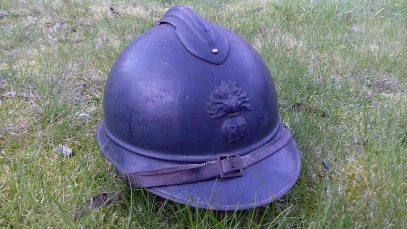 Casque Adrian Mdl 1915 - Infanterie 20180316