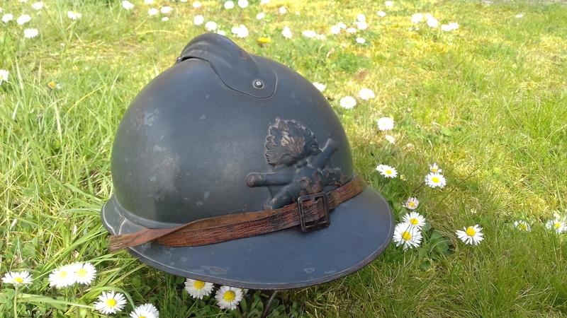 Un magnifique Adrian nominatif 1915 de l'Artillerie 20180416
