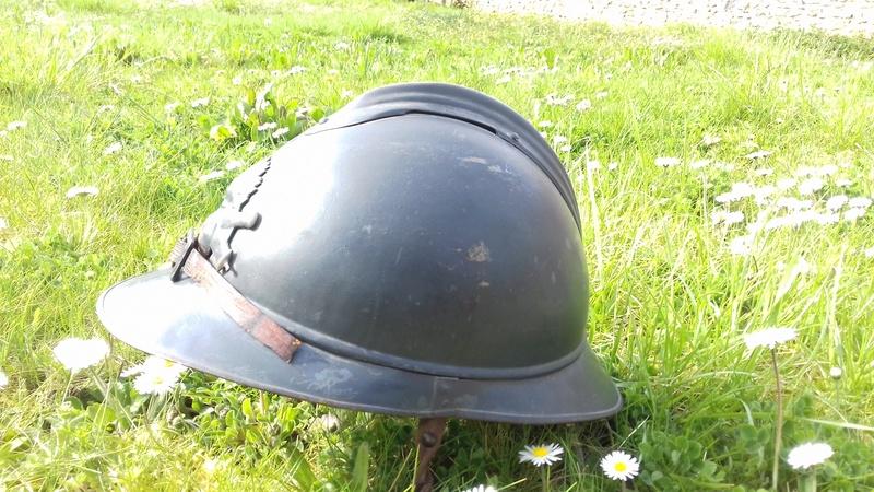 Un magnifique Adrian nominatif 1915 de l'Artillerie 20180420