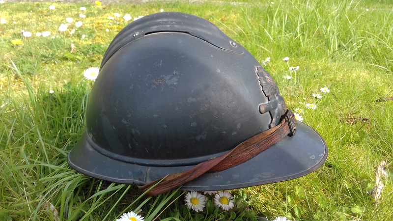 Un magnifique Adrian nominatif 1915 de l'Artillerie 20180425