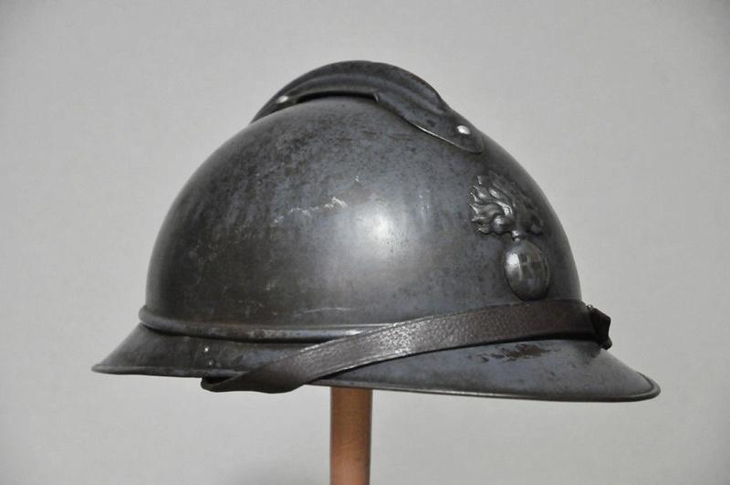 Casque Adrian mdl 1915 de l'infanterie A210