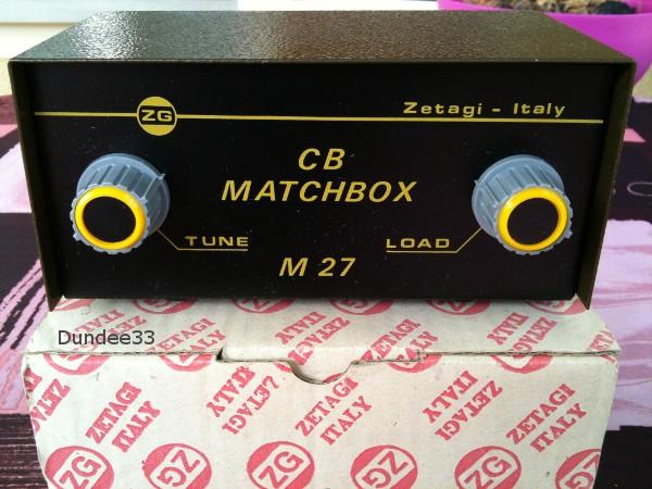 Zetagi CB Matchbox M 27 (Matcher pour station fixe) 12-img10