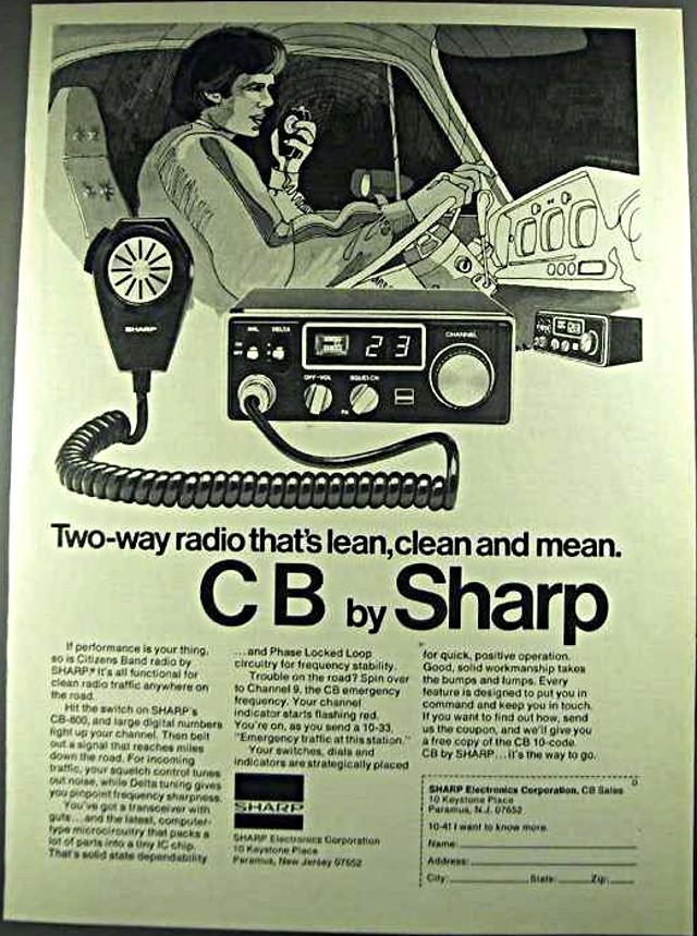 Sharp CB-800 (Mobile) 1976-s10