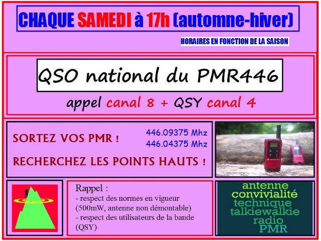QSO national du PMR446 23800110