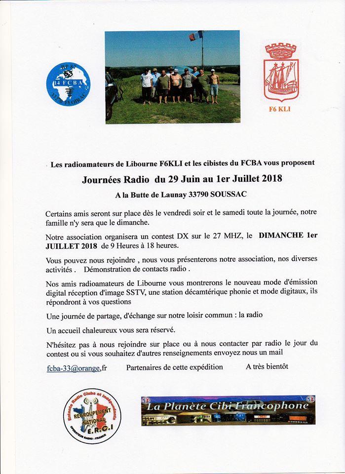 FCBA 33 - Floirac Citizen Band Amitié (33) - Page 2 28177510