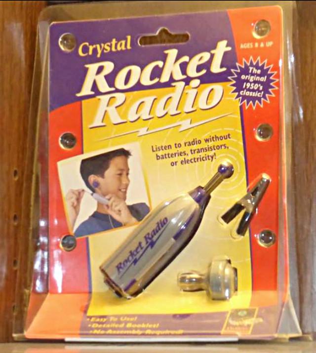 Crystal Rocket Radio (Portable) 28829110