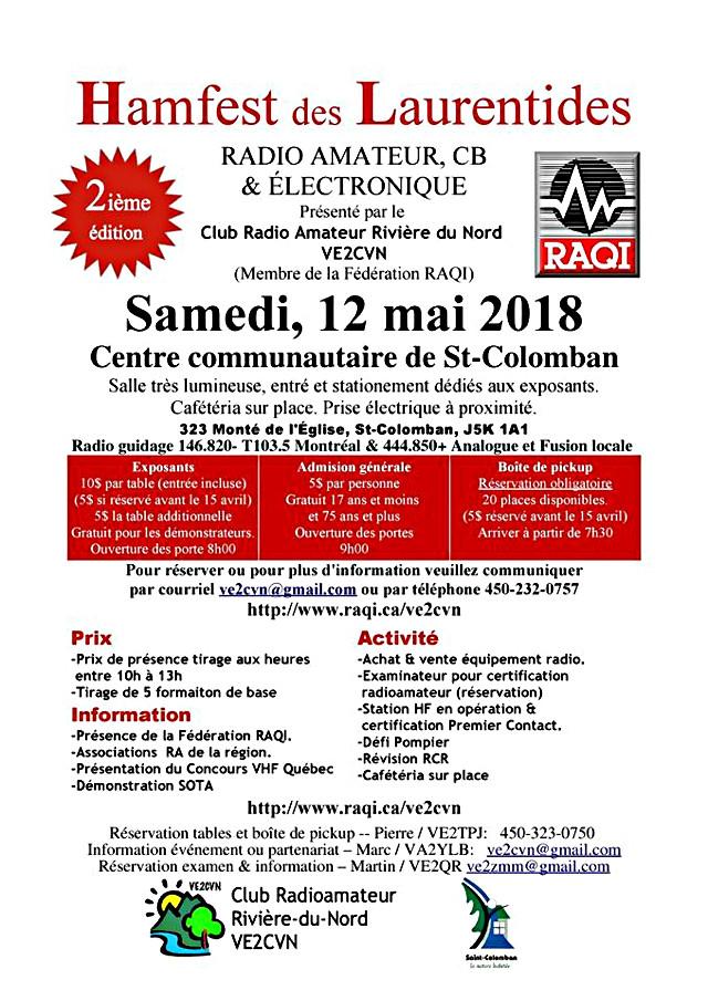 Hamfest des Laurentides VE2CVN (Québec) (Samedi 12 Mai 2018) 29244610