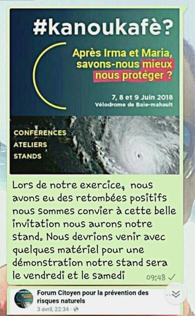 #Kanoukafè ? Conférence, Atelier, Stands Baie-Mahault (Guadeloupe) (7, 8 et 9 Juin 2018) 50136410