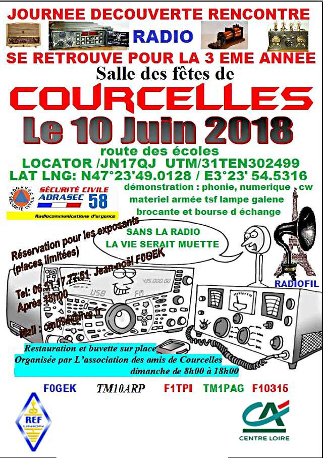 Journée Radio Salle des fêtes de Courcelles (dpt: 58) (10 Juin 2018) 76018910
