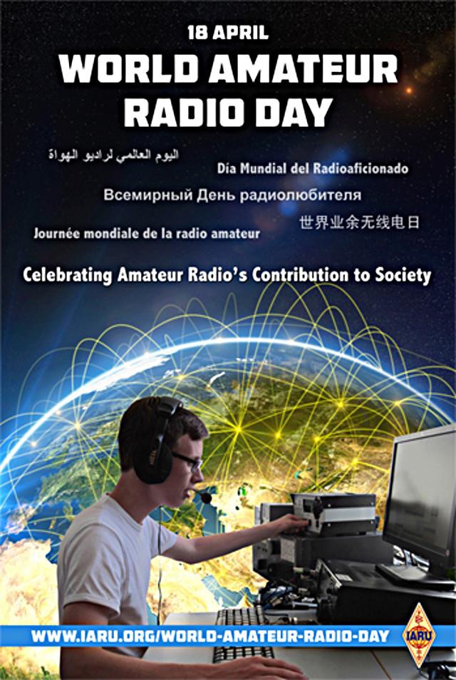 amateur - World Amateur Radio Day (Journée Mondiale des Radio-Amateurs) (18 avril 2018) Affich17