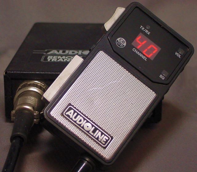 Audioline PT-342 Remote CB Transceiver (Mobile) Audiol12