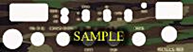 Plaque tuning de façade de postes mobile Camo_g10