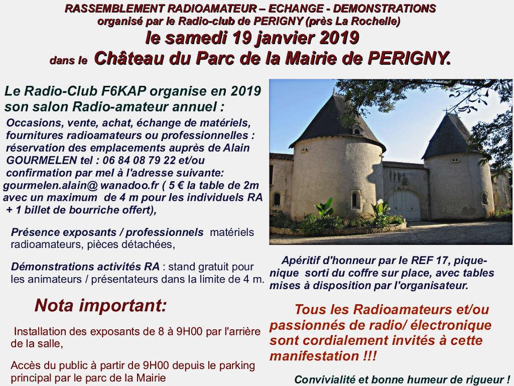 Radio-Club - Salon Radio-Club F6KAP 2019 à Périgny (dpt.: 17) (19-01-2019) Captur27