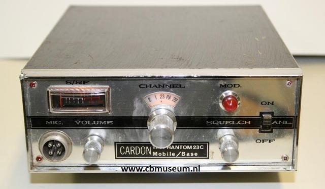 Cardon The Phantom23C (Mobile) Cardon12