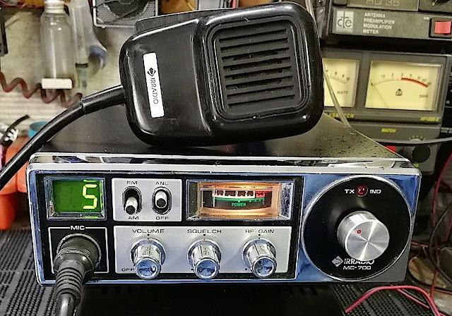 Irradio MC-700 (Mobile) Cb-irr11