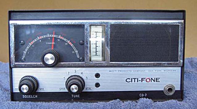 Multi-Elmac Citi-Fone CD-7 (Mobile/Base) Citi-f15